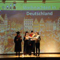 Μαθητές της Γερμανικής Γλώσσας μας ομιλούν για τα Χριστουγεννιάτικα έθιμα στην Γερμανία.