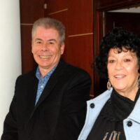 Ο κ.Ροζης Αργύρης και η κ.Ροζη-Μαρκέτη Σταματία, πανευτυχείς με τις επιτυχίες των μαθητών.